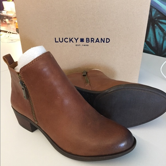 6e17e68f707e Lucky Brand Shoes | Basel Bootie In Toffee Womens 8m | Poshmark
